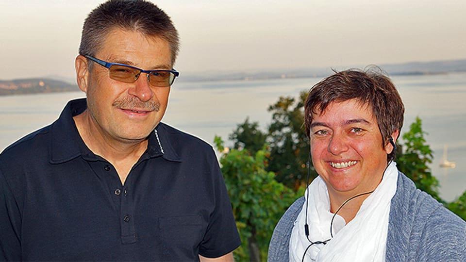 Michael Polich und Pia Kaeser.