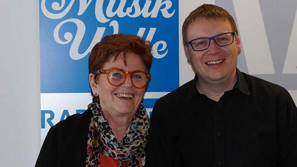 Sämi Studer empfängt Marianne Smug als Gast im «SRF Musikwelle Brunch».