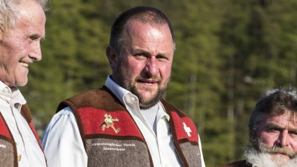 Joeri Roman Ulrich ist mit 44 Jahren der jüngste Wetterscmöcker.
