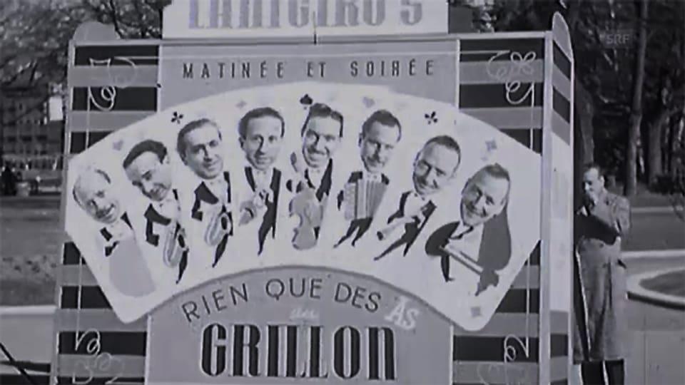 Ausschnitt aus einer Filmsequenz von 1944 über das Orchestre Lanigiro.