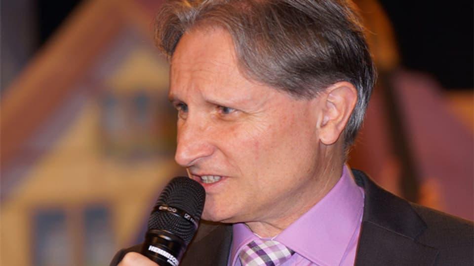 «Zoogä-n-am Boogä»-Moderator Beat Tschümperlin.