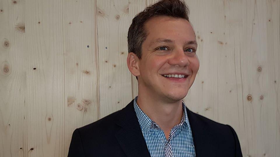 Patrick Secchiari von der Schweizerischen Chorvereinigung.