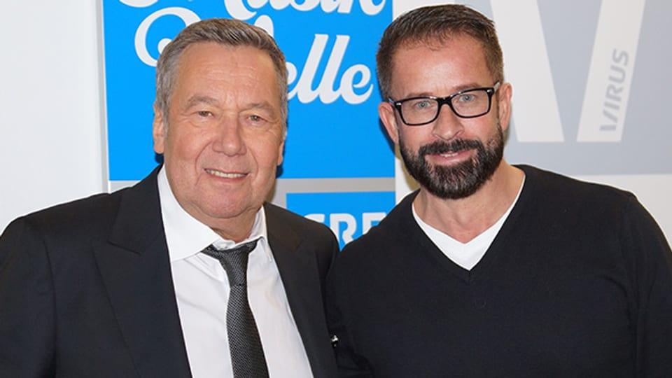 Roland Kaiser zu Gast bei Leonard in der «Hit-Welle».