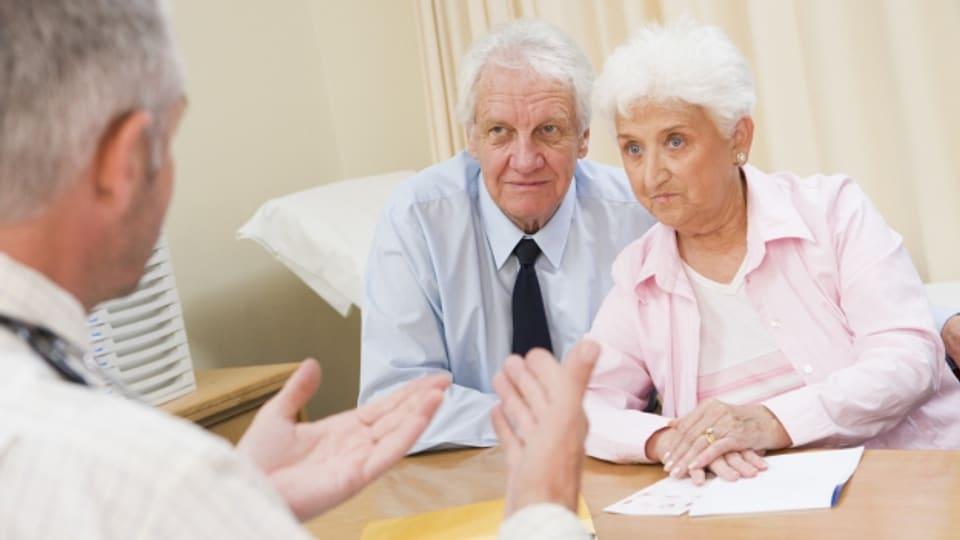 Das Gesundheitsbewusstsein des Mannes holt im Alter auf.