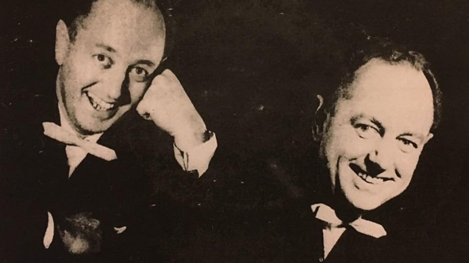 Der zürcher Pianist, Organist und Bandleader Bert Campbell (45jährig).