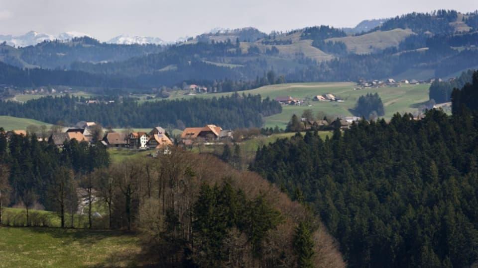 Siegenthal ist ein kleiner Weiler im Emmental.