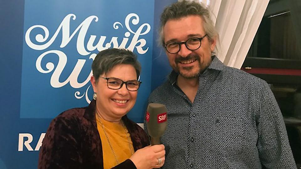 Christine Gertschen und Dani Häusler bei ihrer «Zoogä-n-am Boogä»-Premiere.