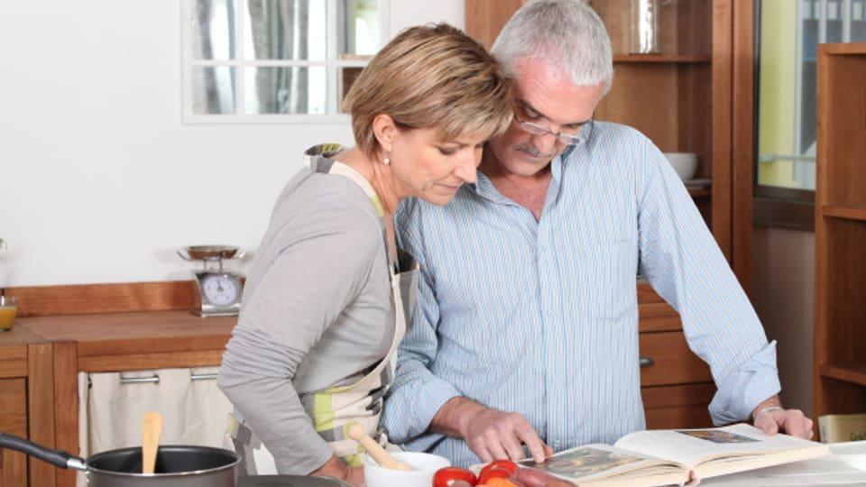 Entdecken Sie das Kochen neu. Auch Männer dürfen sich als Koch betätigen.