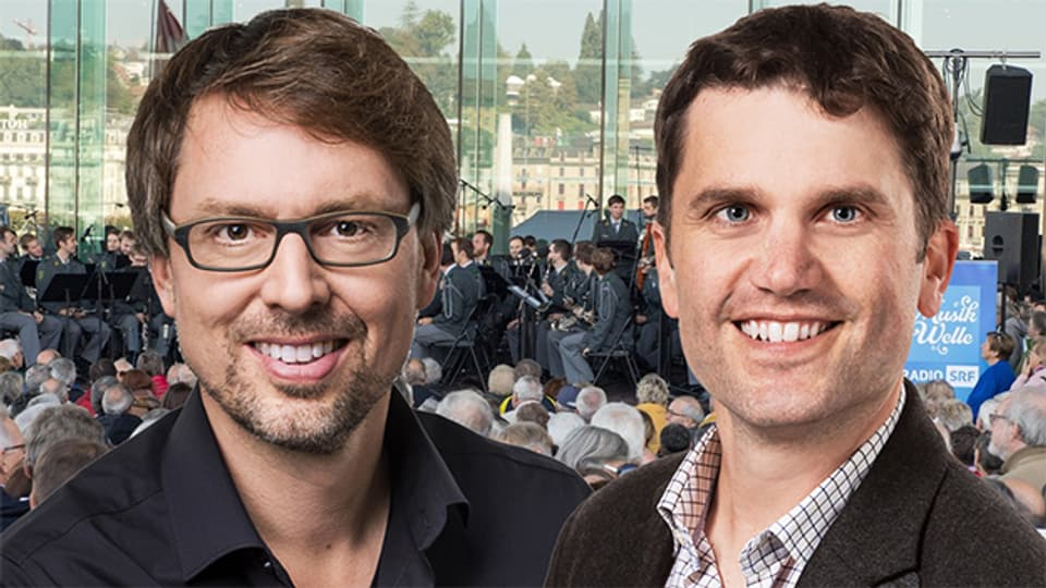 Durch die Livesendung aus Luzern führen Christian Klemm und Roman Portmann.
