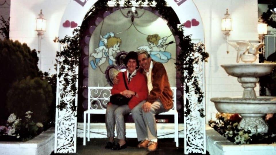 Tildy und Kurt Baumann sind gerne zusammen verreist. Hier in die USA.