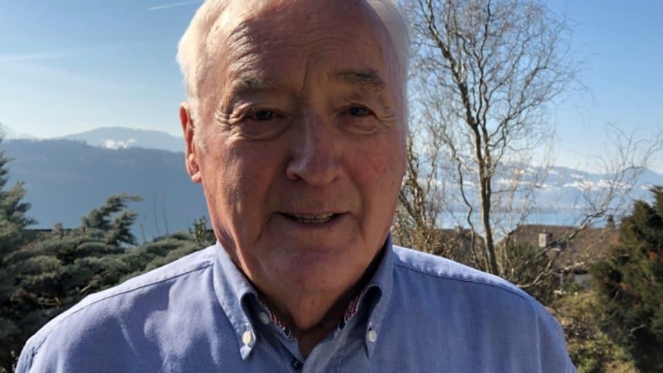 Robert Wälti wuchs im zürcherischen Wald auf.