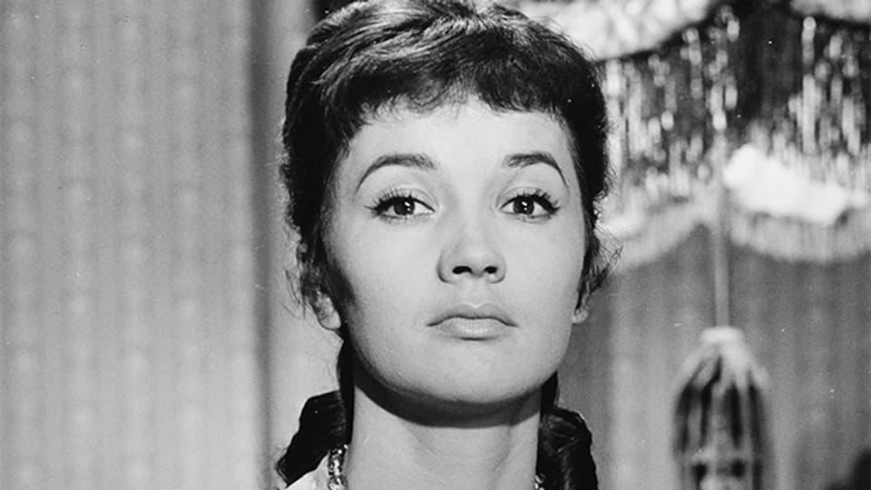 Lilo Pulver in einem Porträt von 1959.