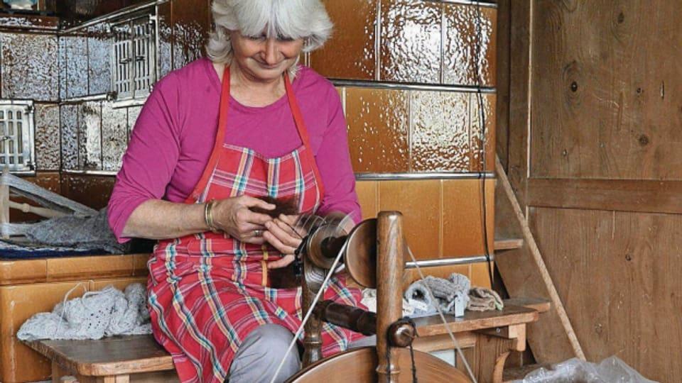 Sabina Haese ist eine der ersten Alpakazüchterinnen der Schweiz.