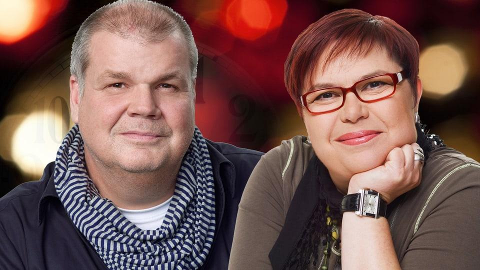 Martin Wittwer und Christine Gertschen feiern mit Ihnen den Jahreswechsel.