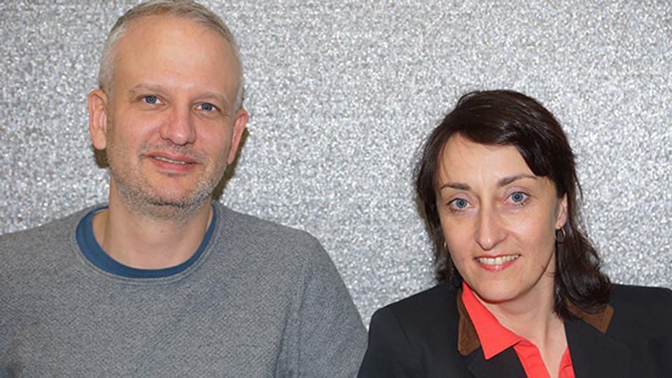 Nicolas Fink ist zu Gast bei Renate Anderegg im «SRF Musikwelle Brunch».