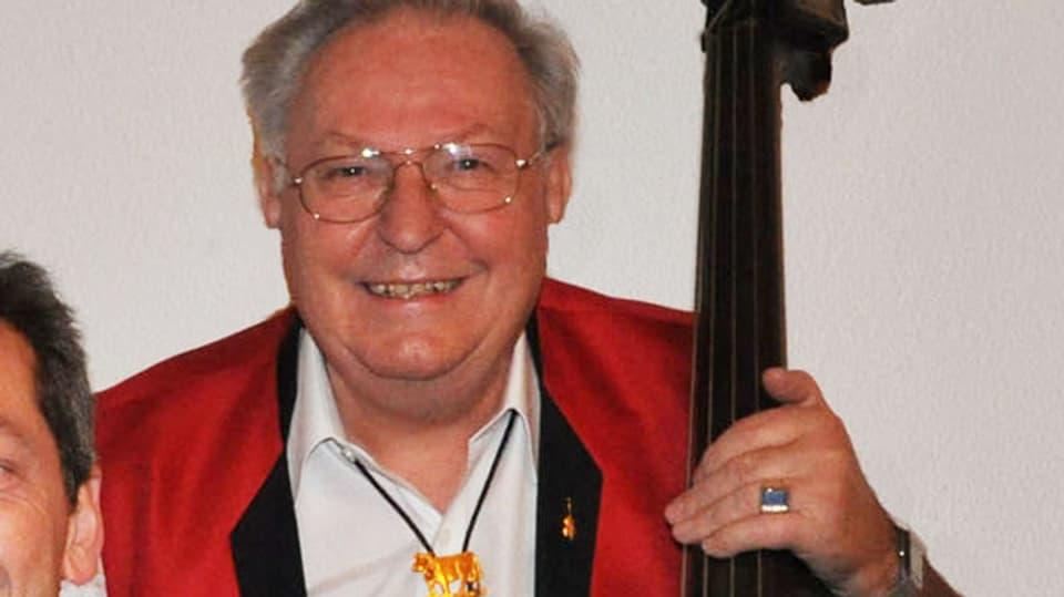 Fritz Fuchs musiziert seit über 60 Jahren.