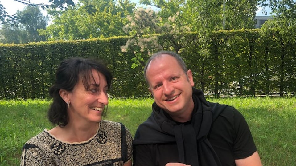 Iwan Meier und Renate Anderegg.
