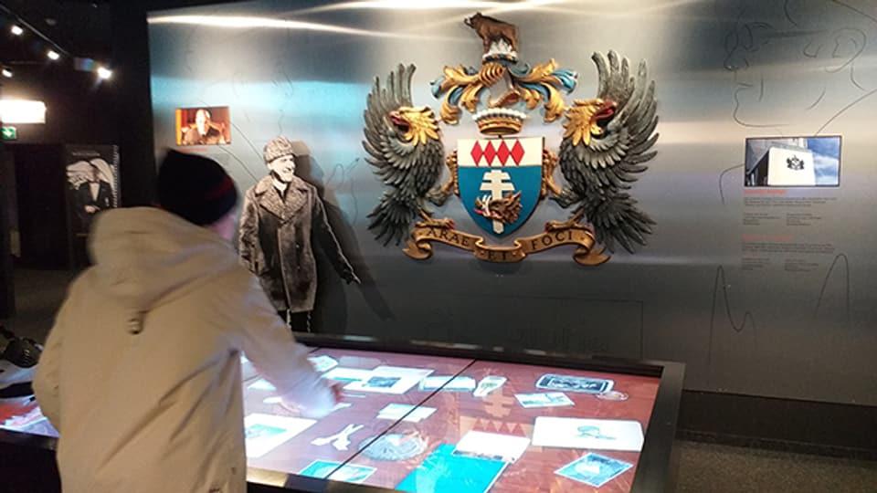 Das kleinen James-Bond-Museum auf dem Schilthorn nimmt den Besucher mit auf eine Zeitreise.