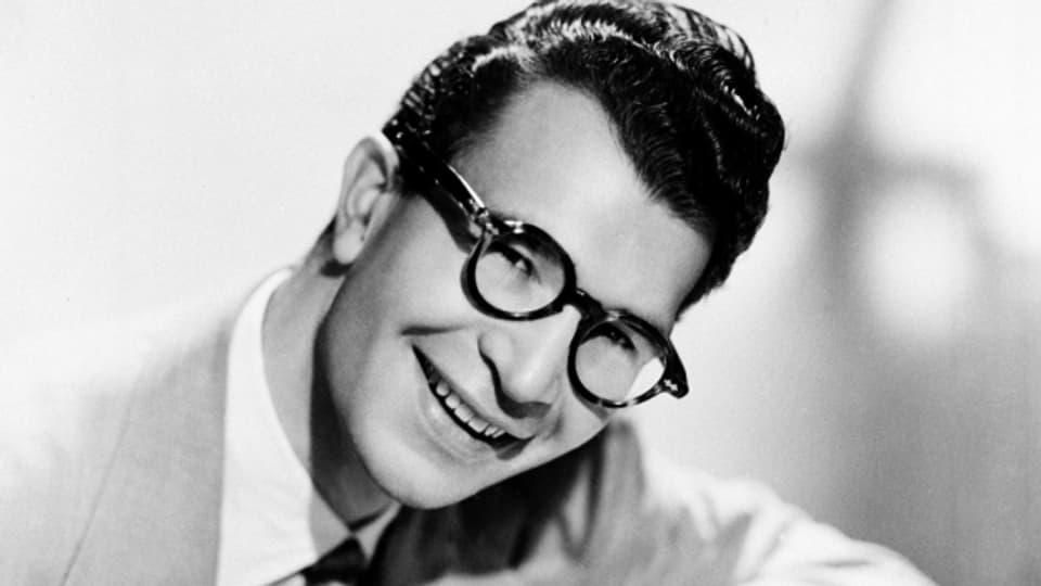Komponist, Pianist und Jazzmusiker Dave Brubeck, 1956.