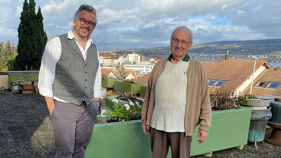 Dani Häusler hat Thedy Blättler in seinem Daheim besucht.