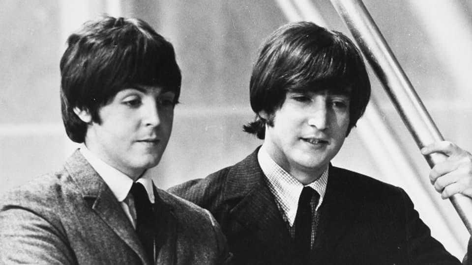 Paul McCartney und John Lennon komponierten den Song «she loves you» im Juni 1963.
