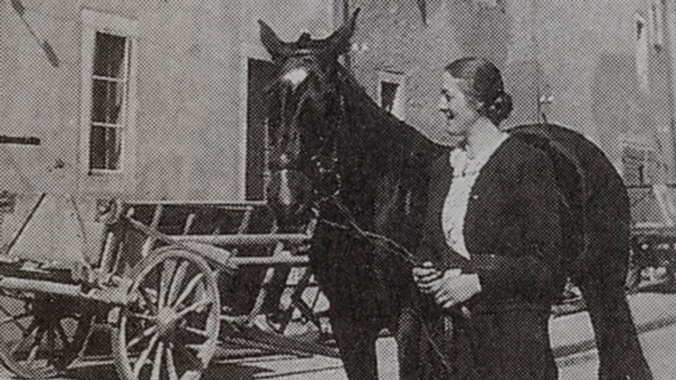 Lina Beck nannte ihr Pferd Colette.