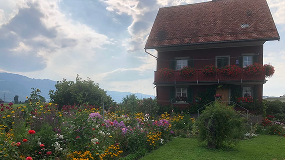 In diesem Haus wurde Rosa Hager-Steiner 1937 geboren.