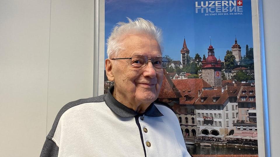 Sepp Bürkli alias «Zitherli-Sepp» feiert am 11. Februar 2021 seinen 90. Geburtstag.