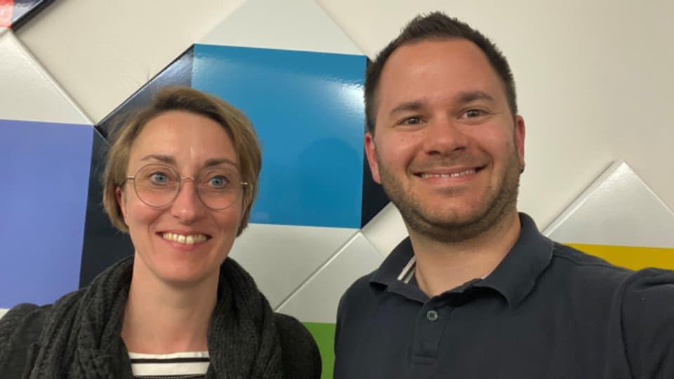 Jörg Bucher ist Gast bei Renate Anderegg im «SRF Musikwelle Brunch».