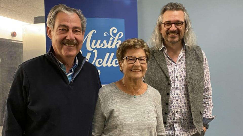 Das Ehepaar Mario und Käthy Gambirasio-Meier bei Dani Häusler im «SRF Musikwelle Brunch».