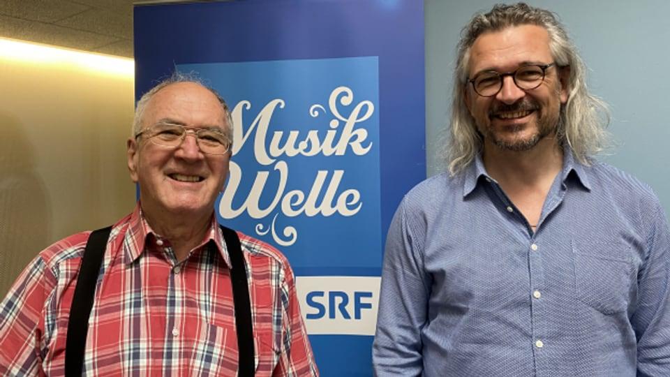 Werner Reber ist Gast bei Dani Häusler im «SRF Musikwelle Brunch».