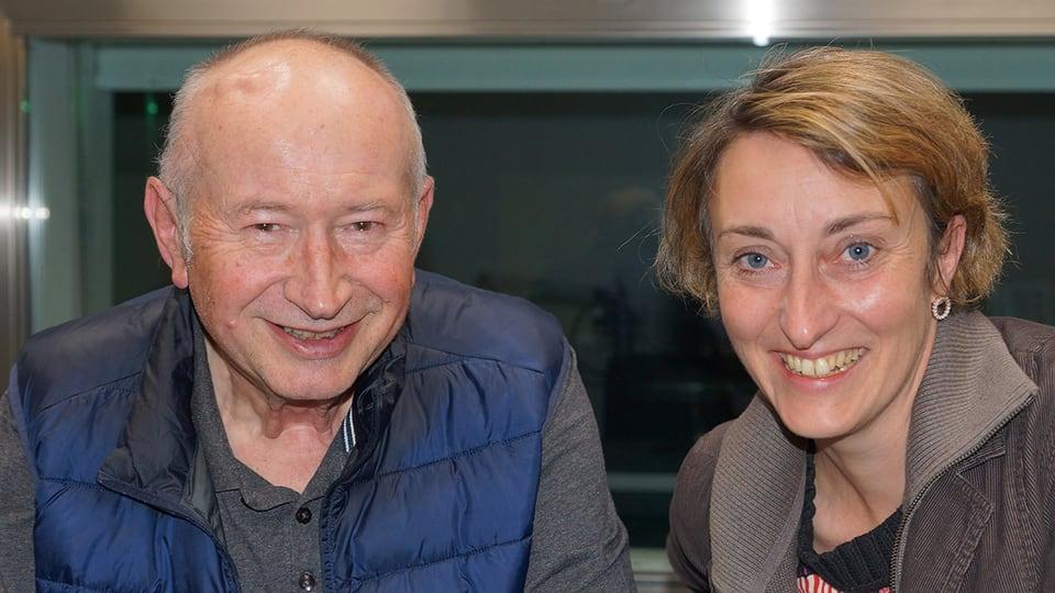 Zum 70. Geburtstag ist Kurt Brogli zu Gast bei Renate Anderegg im «SRF Musikwelle Brunch».