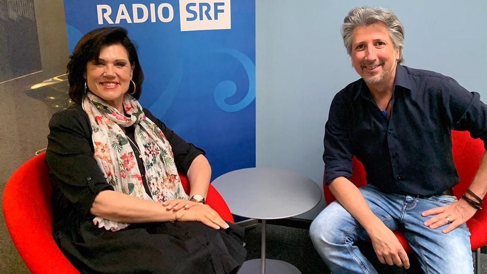 Maja Brunner ist zu Gast bei Roger De Win im «SRF Musikwelle Brunch».