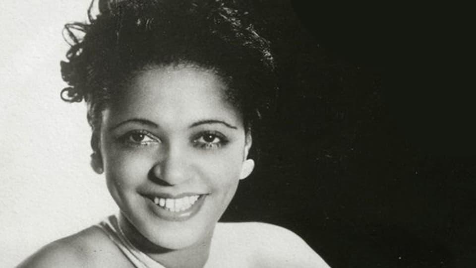 Die amerikanische Jazztrompeterin Valaida Snow (1904-1956).