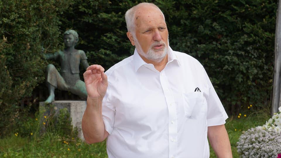 Gemeinderat Rudolf Graf erzählt von Ins und seiner Geschichte.