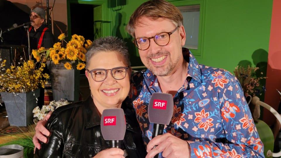 Die Jubiläums-Sendung wurde moderiert von Christine Gertschen und Christian Klemm - die beiden sind schon seit fast zu Beginn der Musikwelle mit dabei.