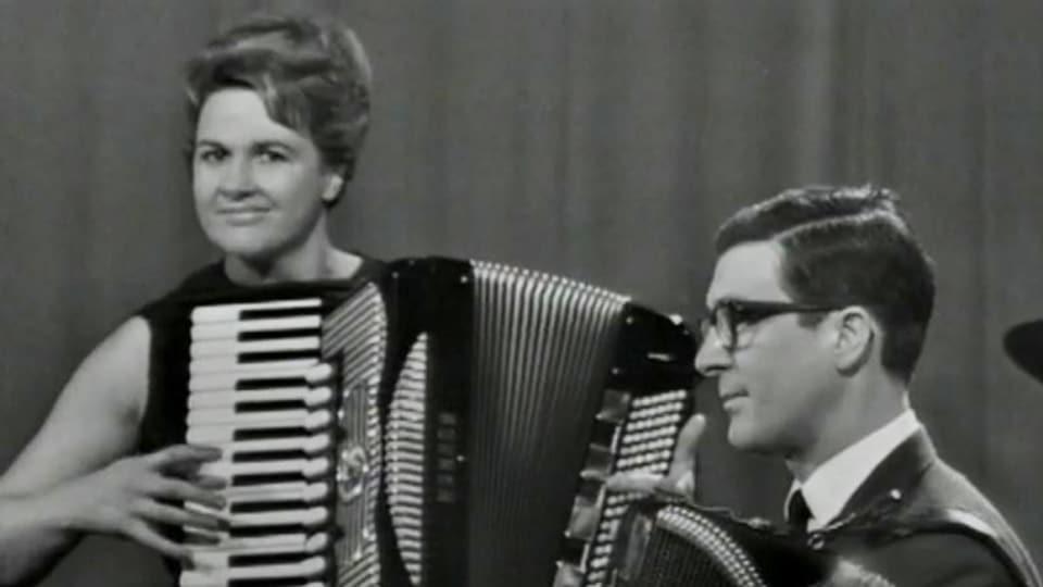 Aus «Harmonika-Klänge» von Fernsehen DRS 1967.