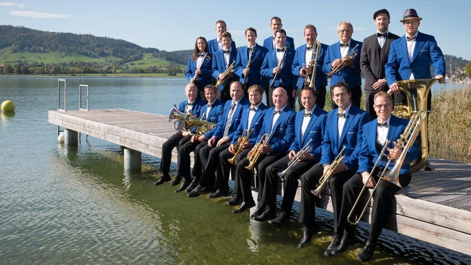 «Die Dorfspatzen Oberägeri sind eine coole Truppe», sagt Präsident Pius Bucher, «und auch musikalisch ziehen alle am selben Strick».