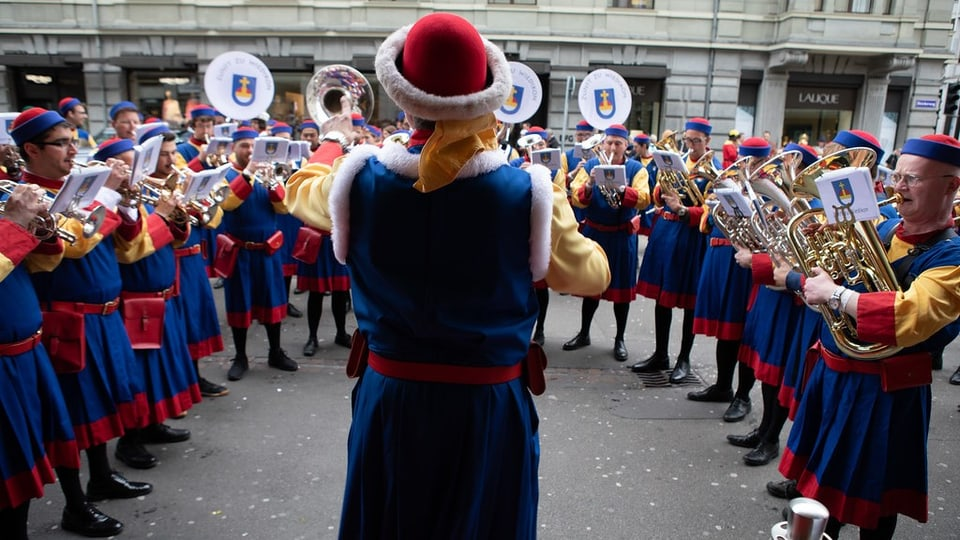Seit 2015 ist die Brass Band Zürich das offizielle Zunftspiel der Zunft zu Wiedikon.