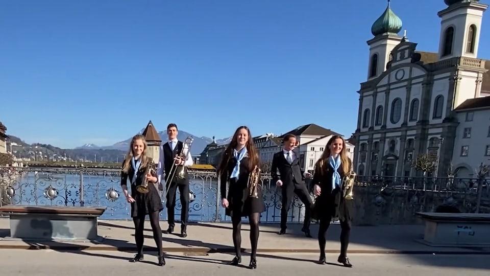 Zu den innovativen Jugendmusiken gehören unter anderem die BML Talents, deren Video zum Tanzhit «Jerusalema» im Internet zehntausenfach angeklickt wurde.