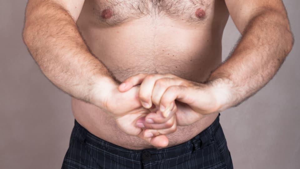 Da denkt man nicht automatisch an Testosteronbomben. Ohne Übergewicht ist wohl alles im grünen Bereich.