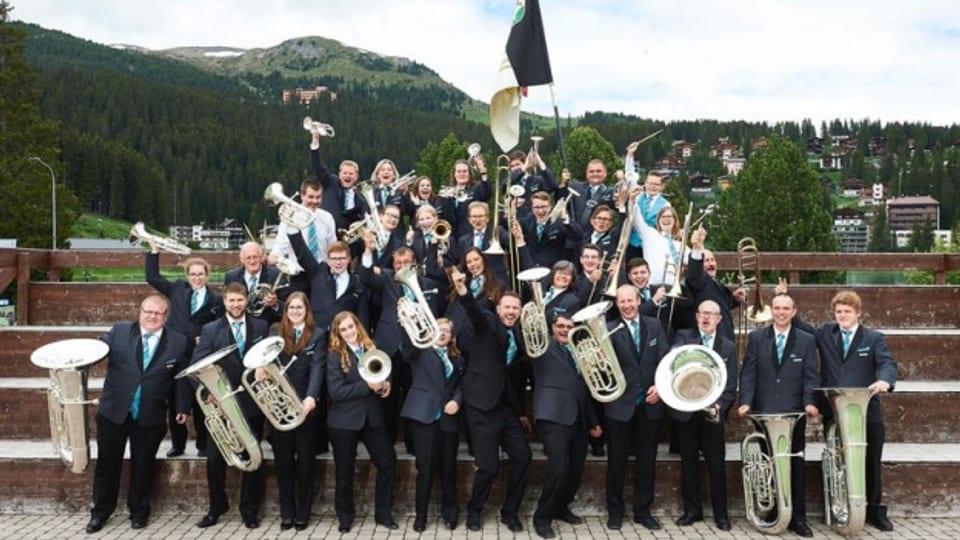 Auch virtuell engagiert: MG Brass Band Rehetobel