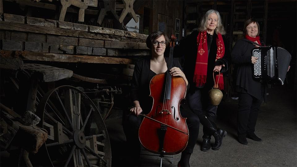 RODAS mit Corin Curschellas, Barbara Gisler und Patricia Daeger.