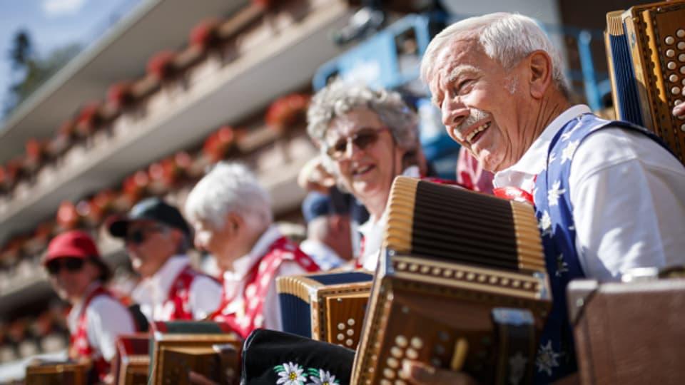 Im 2019 fand das Eidgenössische Volksmusikfest in Crans-Montana statt.