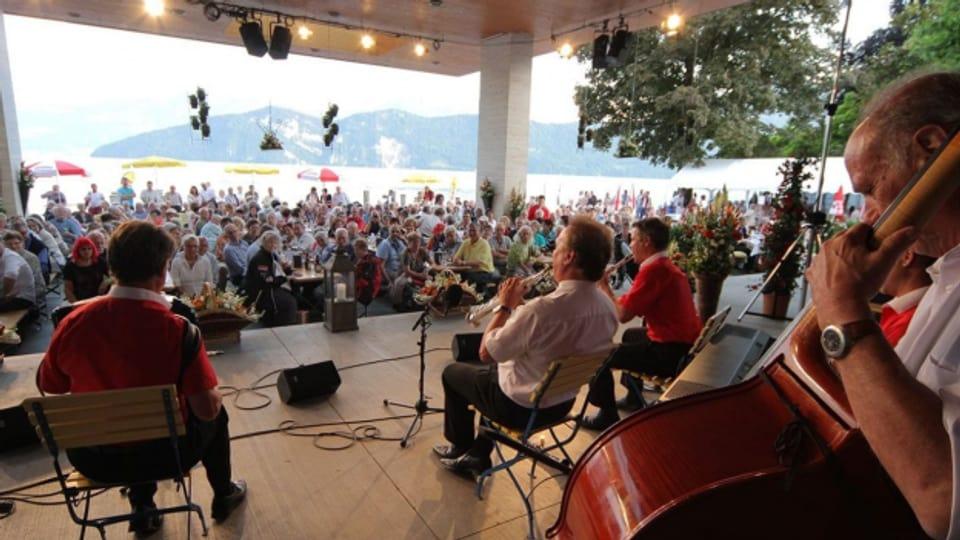 Die Auftritte von Carlo Brunner gehören am Heirassa-Festival jeweils zu den besonderen Highlights.