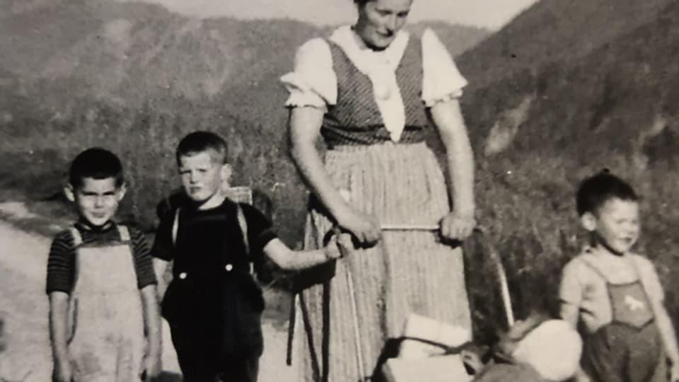 Ferien in Graubünden waren im Gegensatz zur Schulzeit ein Highlight.