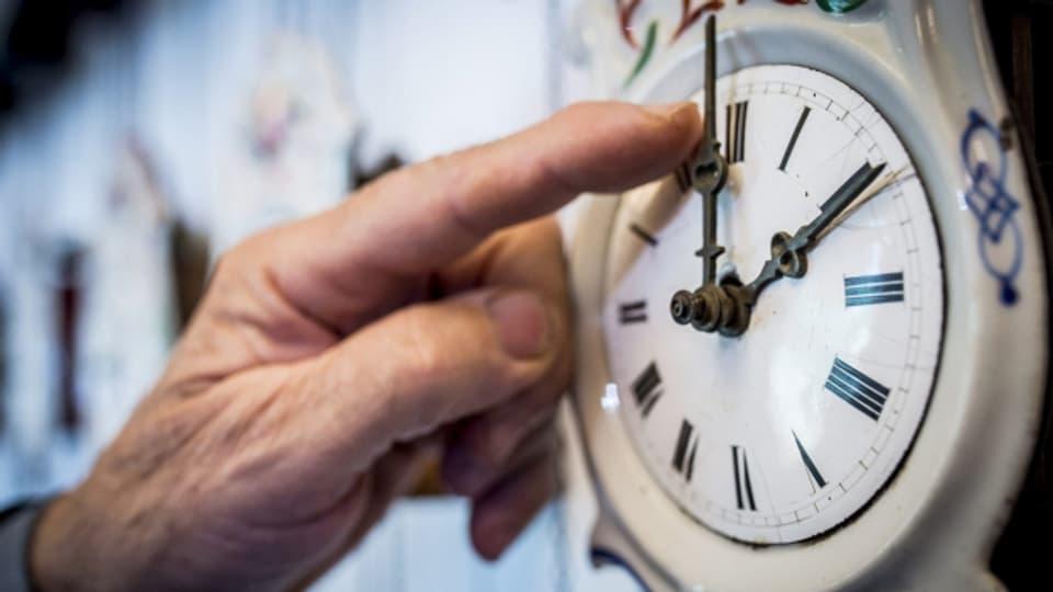 Von Samstag auf Sonntag wird jeweils die Zeit umgestellt.