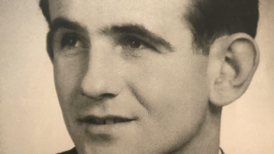 Willy Haindl in jungen Jahren.