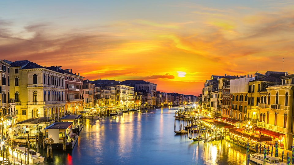 Ambiente ist das italienische Wort für eine stimmungsvolle Umgebung.