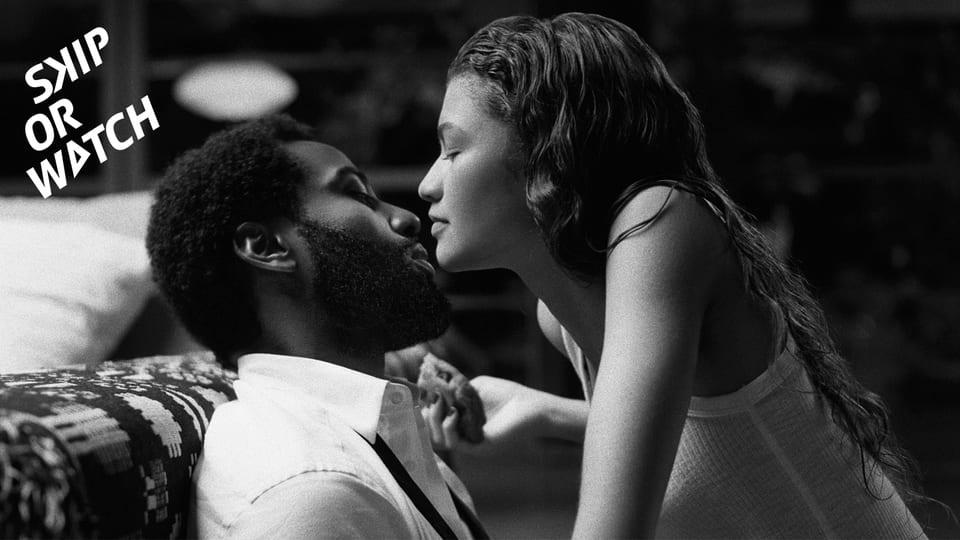 Nicht so steamy, wie uns das Netflix vielleicht weismachen möchte: John David Washington und Zendaya in «Malcolm & Marie»